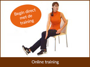 Online training Stoelyoga